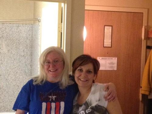 Sandy and Jen AFTER