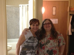 Me and Jen BEFORE
