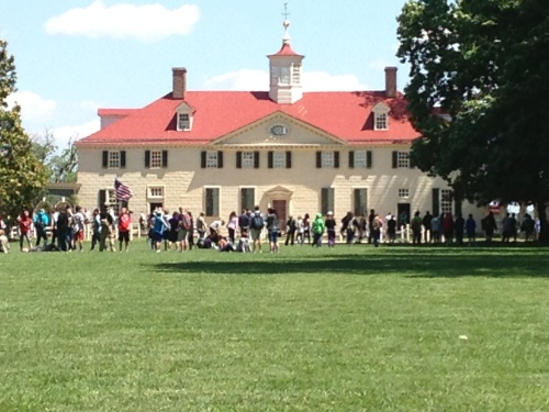 George Washington's Mansion Mount Vernon