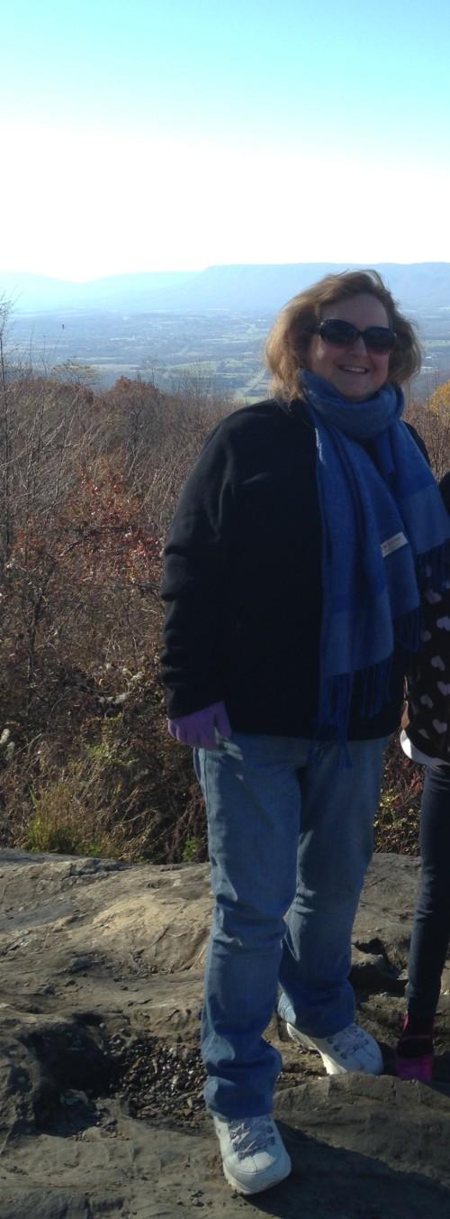 Me at Shenandoah Mountains