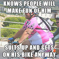 What I Think About While I'm Biking (Hint: Not you!)